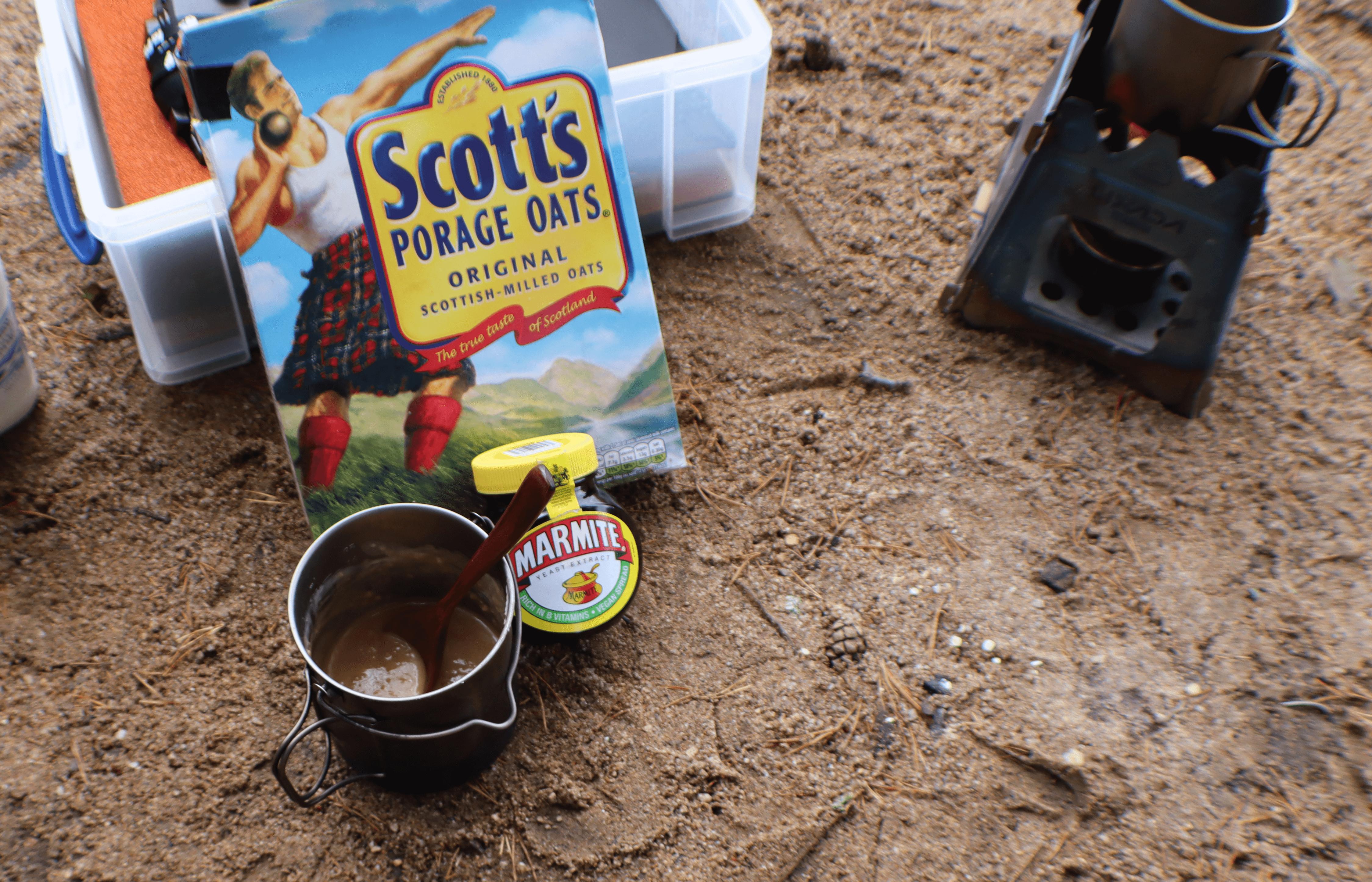 marmite porridge recipe